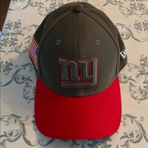 My giants salute to service hat